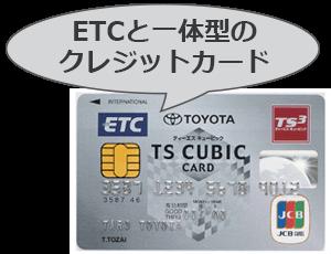 一体型クレジットカードの特徴