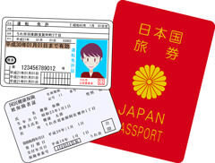 ゴールドラッシュでは免許証など身分証明書が必要である