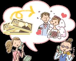 専門の結婚紹介所に入会するには資金が必要