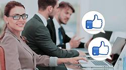 ビジネスにも活用しやすいフェイスブック!