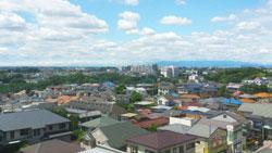 川崎市の街並み