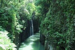 高千穂峡にある真名井の滝