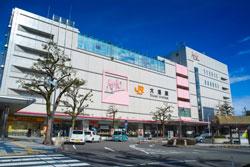 大垣駅前の情景