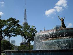 名古屋栄駅付近