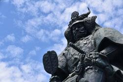 甲府にある武田信玄像