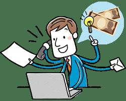 ネットビジネスや商材でお金儲け!クレジット現金化でスピーディーな経営に対応しよう