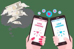 恋愛でお金が動くことは多い!現金化の仕方で将来の価値観になる