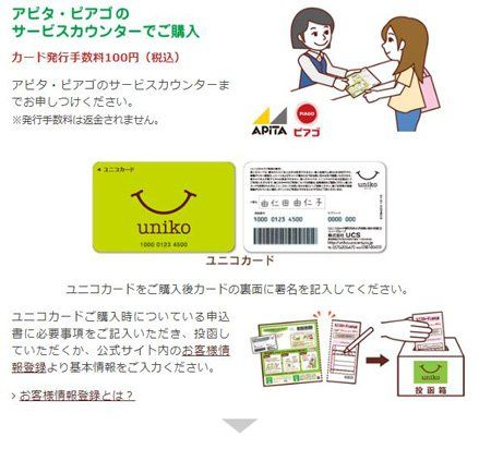 uniko (ユニコ)はアピタとピアゴで使いやすい電子マネー