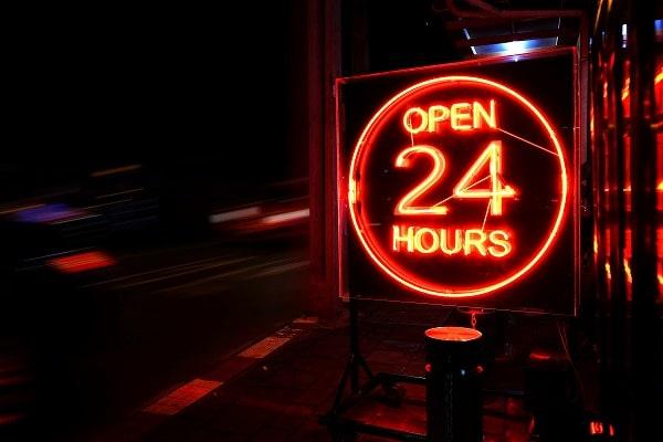 ナンバーワンクレジット 営業 時間 24時間 日時
